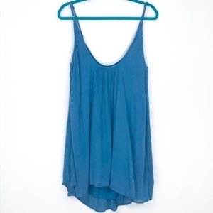 ROXY NWT teal flowy Perpetual Dress size M